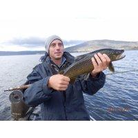 Fly fishing at Woods Tas