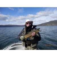 Fly fishing Tas 1st time - great fish
